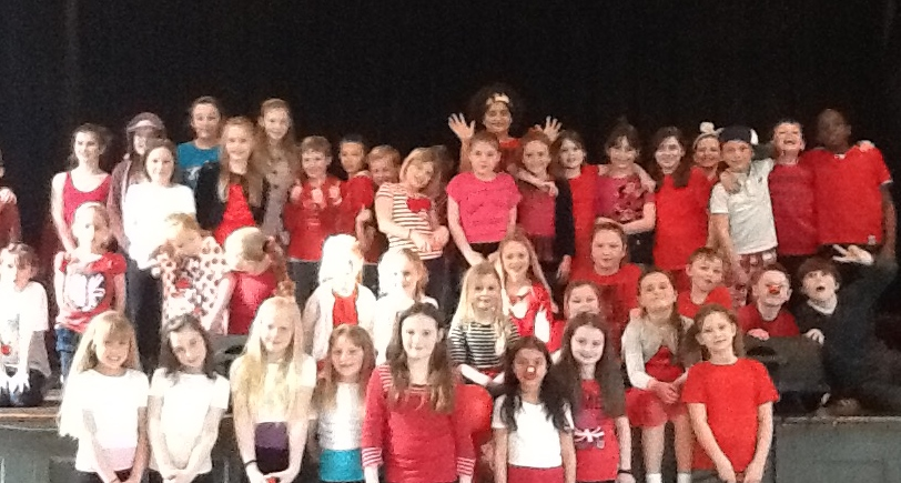 Whyteleafe pupils have a seriously funny time in aid of Comic Relief