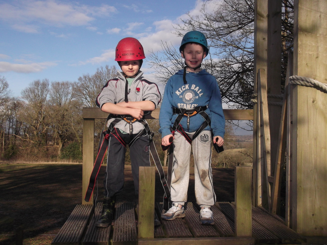 Into the great wide open: Danetree pupils go on outward bound course